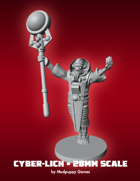 Mudpuppy Miniatures: Cyber-Lich