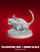 Mudpuppy Miniatures: Telepathic Rat