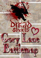 Dread Streets: Gory Lane Battlemap