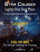 Capital Ship Deck Plans: Launch Bay