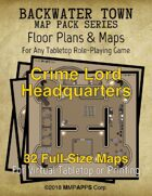 Backwater Town: Crime Lord Headquarters
