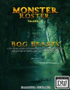 Monster Roster III: Bog Beasts