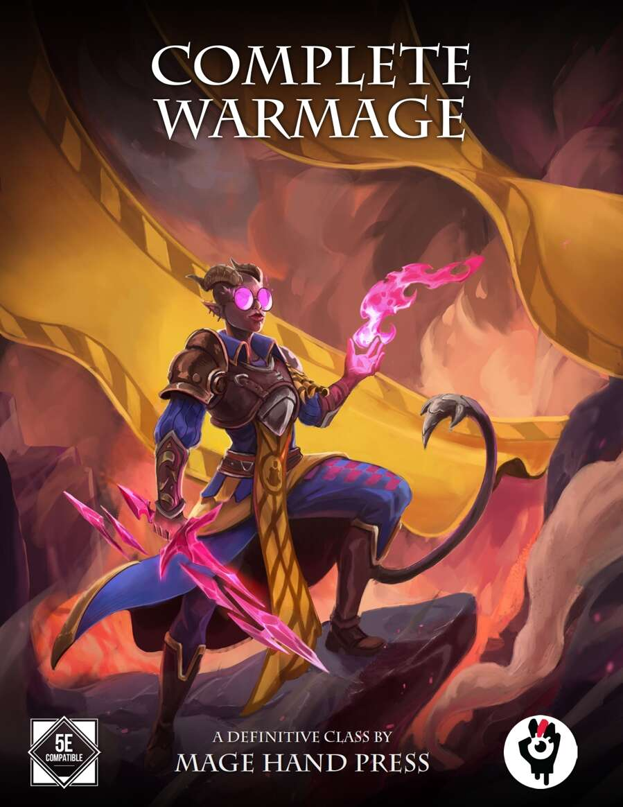 Complete Warmage Mage Hand Press Drivethrurpg Com While holding this wand, you gain a bonus to spell attack rolls determined by the wand's rarity. watermarked pdf