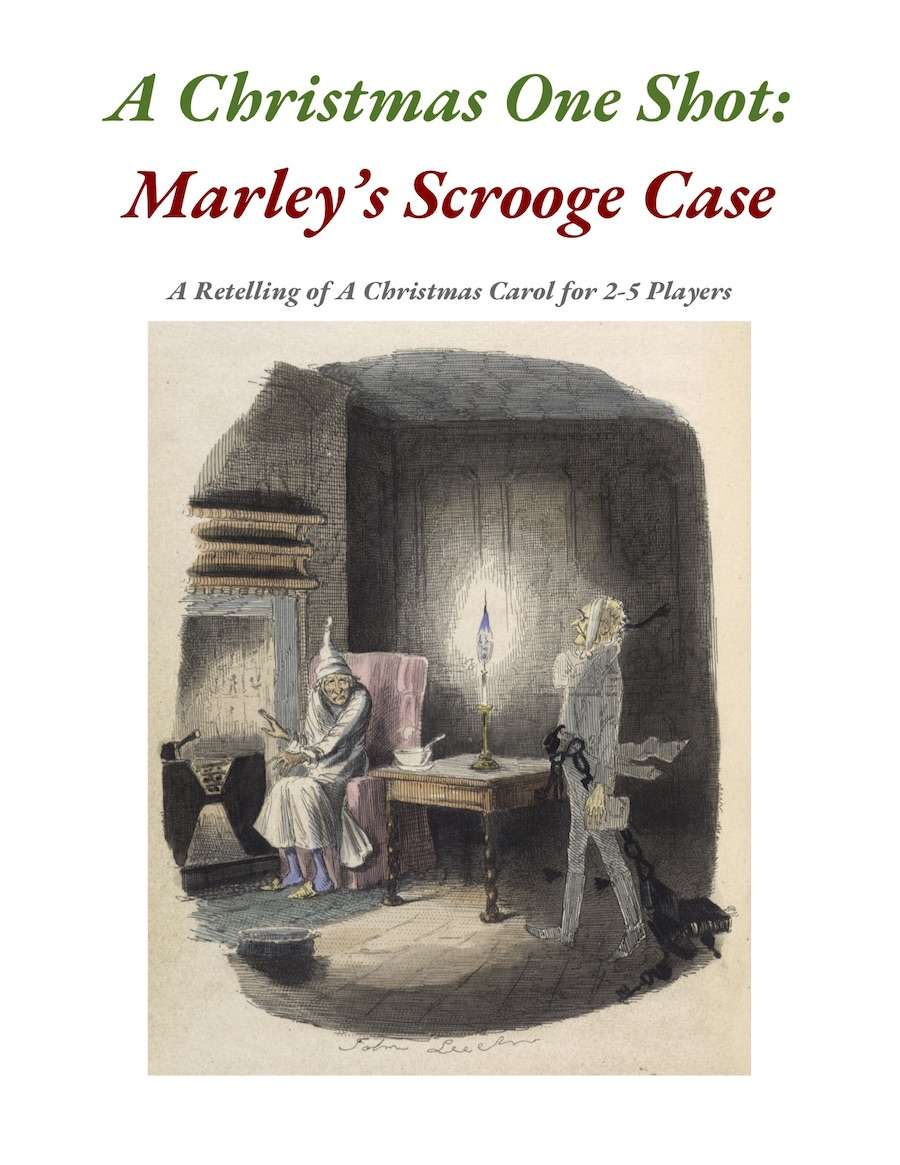 A Christmas One Shot: Scrooge's Marley Case