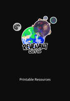 Revenant World Printable Resource Packet