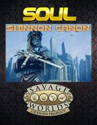 Shinnon Cannon(SOUL one sheet)