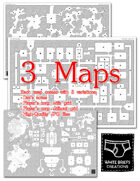 3 Dungeon Maps