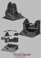 Medieval Scenery - Ruined Watchtower