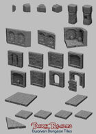 Medieval Scenery - Dwarven Dungeon Tiles