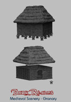 Medieval Scenery - Rural Granary