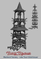 Medieval Scenery - Laketown Watchtower