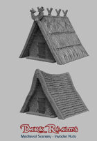 Medieval Scenery - Viking Huts
