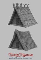 Medieval Scenery - Viking Huts