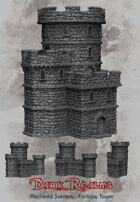 Medieval Scenery - Fantasy Tower