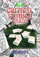 Critical Fumble Cards - Print and Play