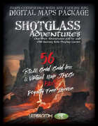 SHOTGLASS ADVENTURES Vol 1 - DIGITAL MAPS PACKAGE