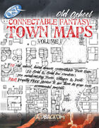 Connectable Fantasy Town Maps - Volume 1