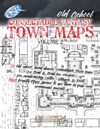 Connectable Fantasy Town Maps - Volume 2