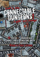 Connectable Dungeons Volume 1 Digital Maps Package