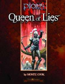 Cover of Ptolus: Queen of Lies