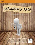 5E Equipment Cards: Explorer's Pack