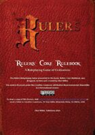 Rulers: Core Rulebook