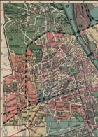 Zestaw 4 przedwojennych map