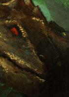 Devoidness-Ancestialian-A secret spiece of dragon-Stock illustration