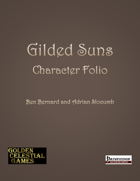 Gilded Suns Character Folio