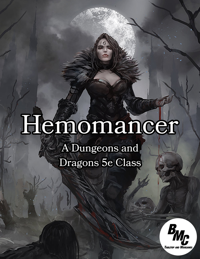 Hemomancer - D&D 5e Homebrew Class - BMC Games