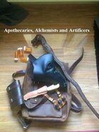 Apothecary, Alchemist and Artificer Classes for 2E DND