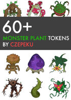 60+ Plant Monster Tokens
