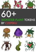 60+ Plant Monster Tokens