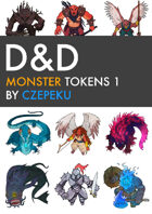DnD Monster Tokens 1