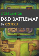 Ogre Manor DnD Battlemaps