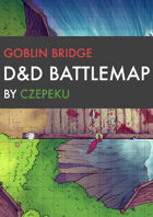 Goblin Bridge DnD Battlemaps