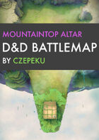 Mountaintop Altar DnD Battlemaps