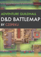 Adventure Guildhall DnD Battlemaps