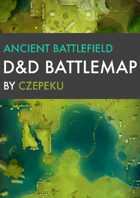 Ancient Battlefield DnD Battlemaps