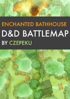 Enchanted Bathhouse DnD Battlemaps