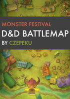 Monster Festival DnD Battlemaps