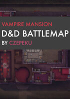 Vampire Mansion DnD Battlemaps