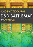 Ancient Ziggurat DnD Battlemaps