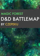 Magic Forest DnD Battlemaps