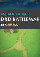 Lakeside Cottage DnD Battlemaps