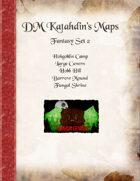 DM Katahdin's Maps - Fantasy Set 2