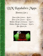 DM Katahdin's Maps - Fantasy Set 3