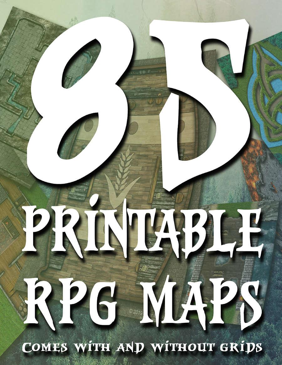 85 Printable Rpg Maps