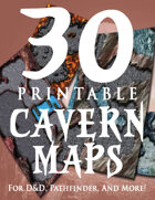 30 Printable Cavern Maps