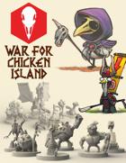 War for Chicken Island: STL files